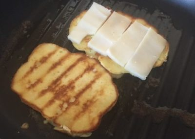 Grilled Cheese (Gluten Free) Sandwich